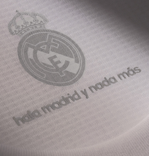 detalles camiseta Real Madrid
