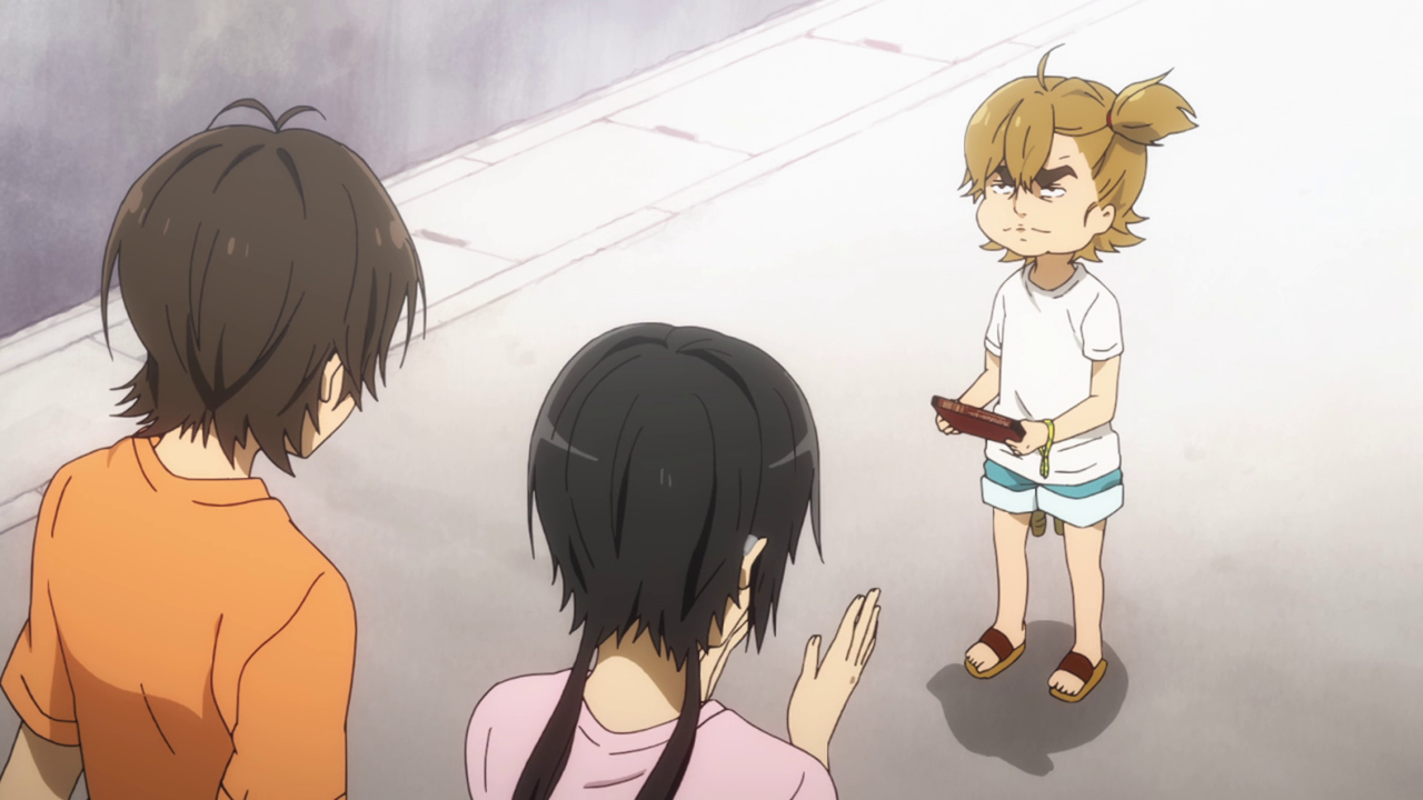 Barakamon series 1 anime tv 2014 naru serious face