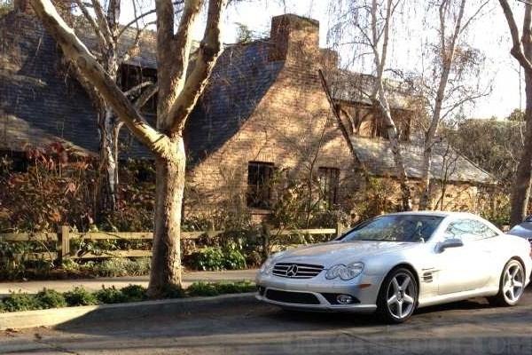 Steve Jobs' Mercedes
