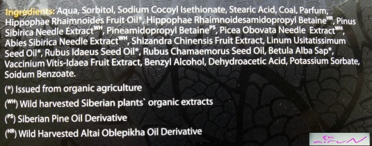 ingredientes jabón negro nórdico