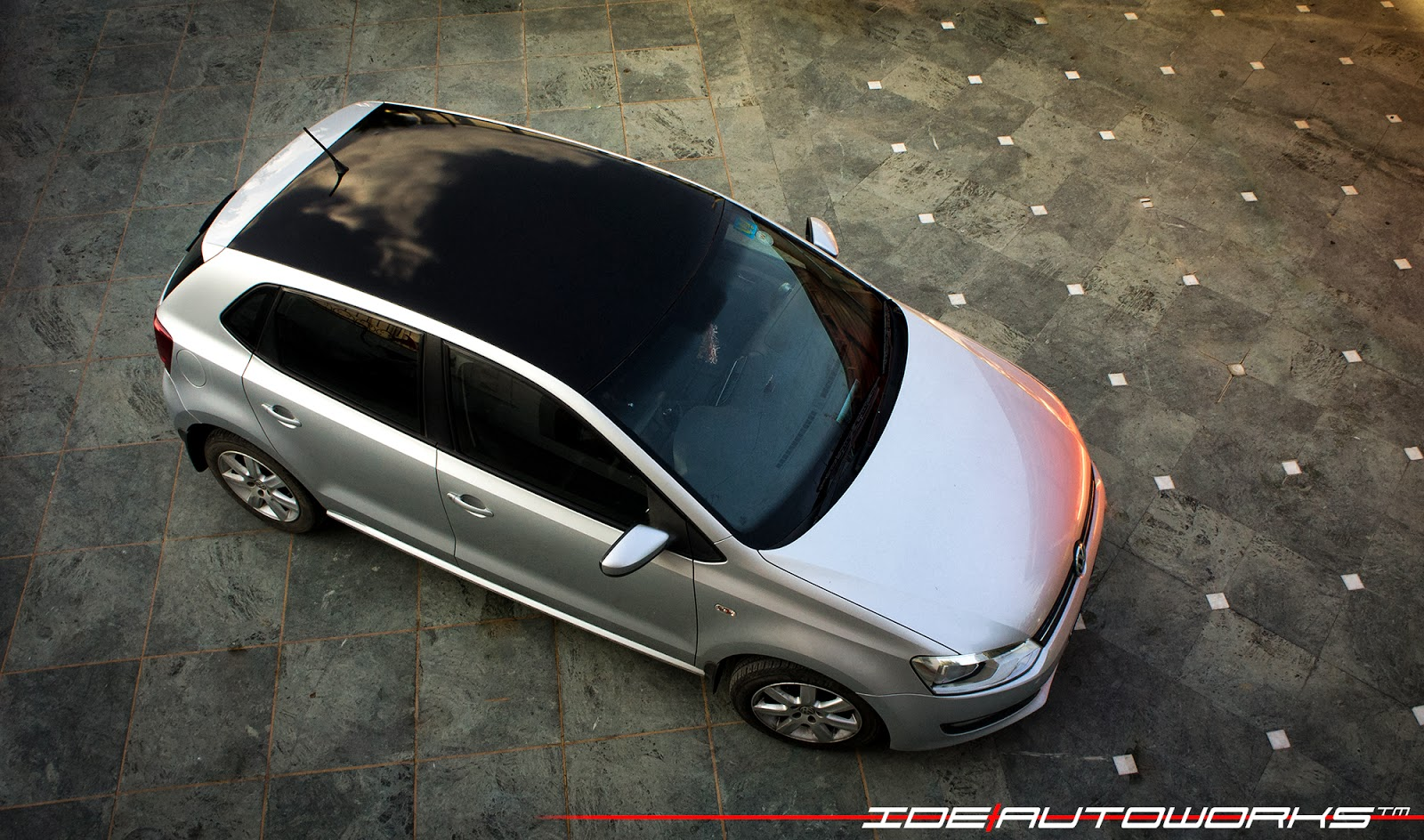 Another Vw Polo With Gloss Black Roof Wrap Ide Autoworks