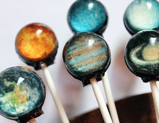 creative lollipops