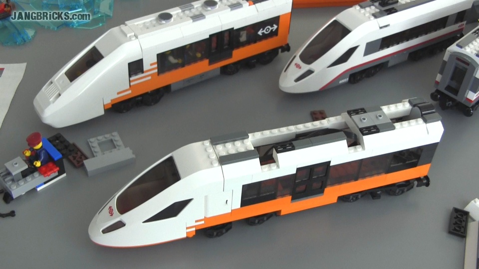 Working On A New Custom Lego Passenger Train