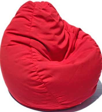 Sofa SANTANA Bean Bag Merah