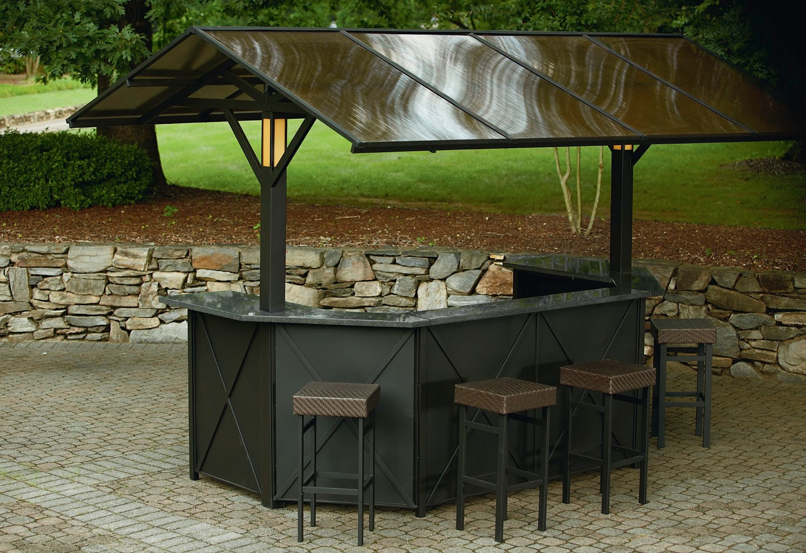 Outdoor patio gazebo ideas for Outdoor furniture gazebo