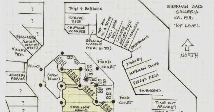 The tarp report sherman oaks galleria 1981 floor plan for Flooring sherman oaks