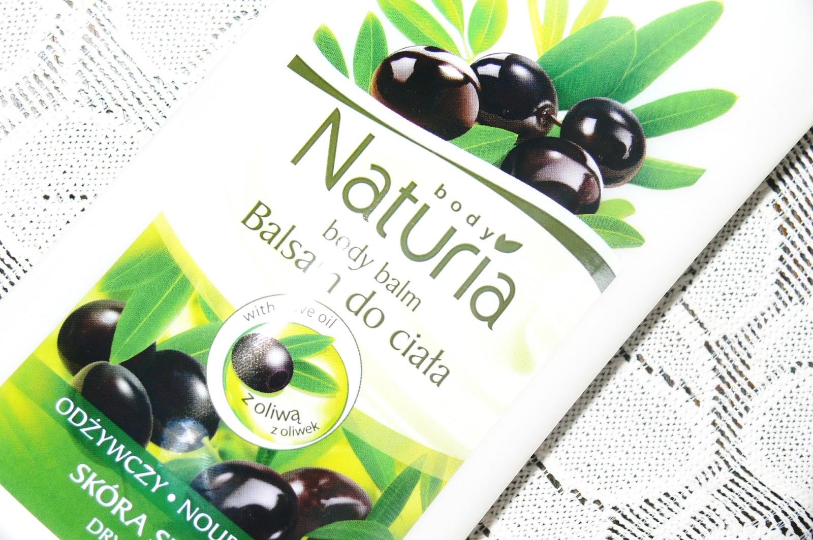 Joanna, Naturia Body, Odżywczy balsam do ciała z oliwą z oliwek