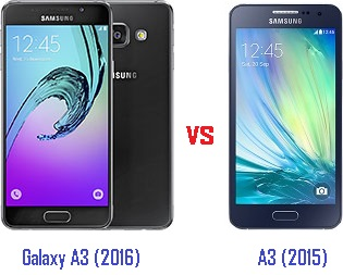 samsung galaxy a3 2016 vs a3 2015 harga dan spesifikasi. Black Bedroom Furniture Sets. Home Design Ideas
