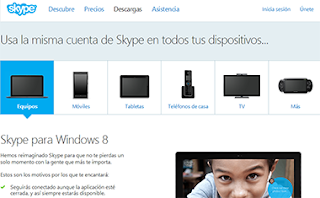 aplicaciones Skype