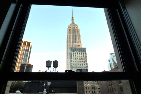 Empire State Building desde el hotel