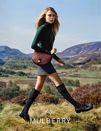 MULBERRY AW2014/15 Ad Campaign