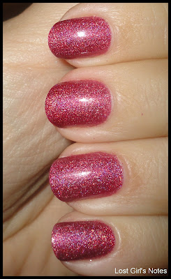 golden rose holographic burgundy 108