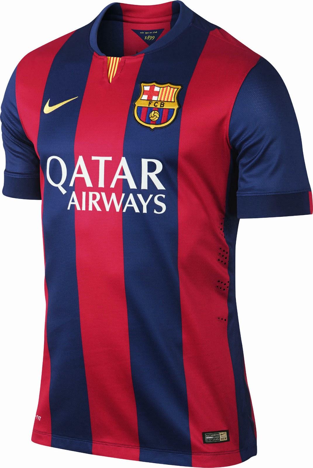 Bildresultat för barcelona jersey
