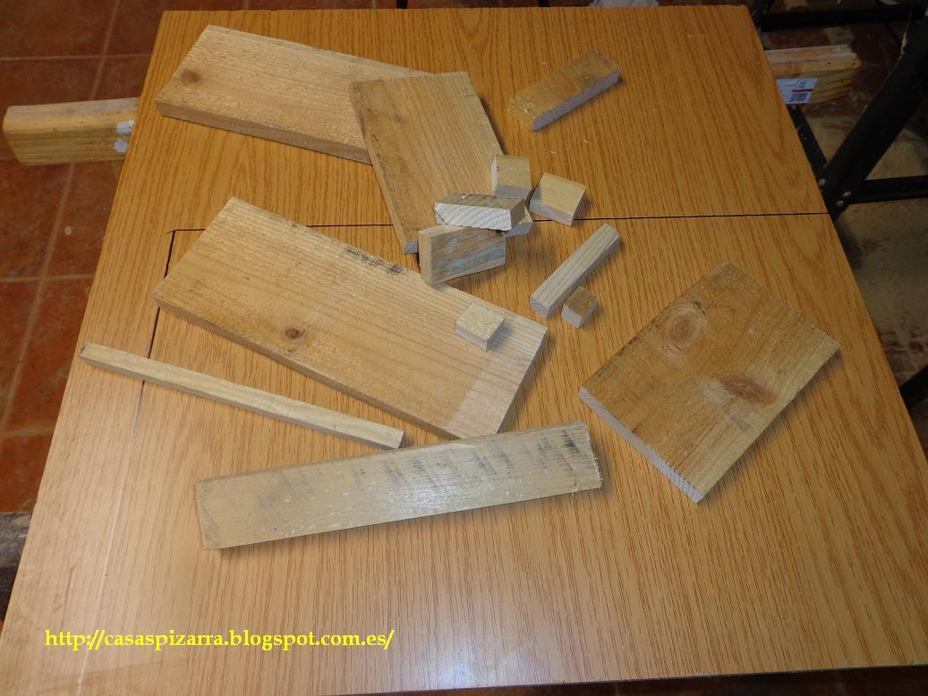 Casas de pizarra septiembre 2012 - Hacer una caja de madera ...