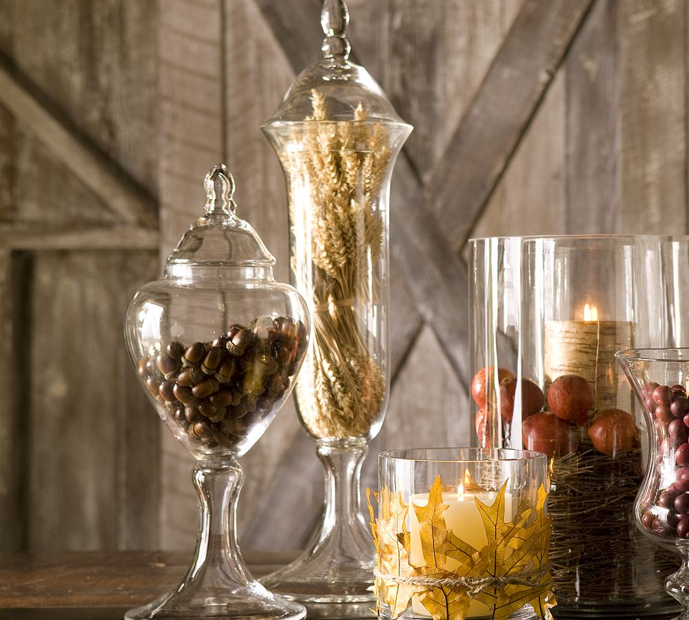 How To Make Branch Decoration In Glass Jar