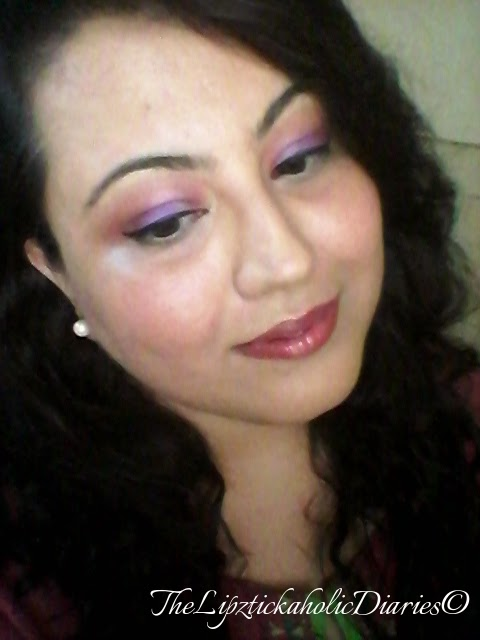 PURPLE DAY FOR EPILEPSY on March 26th - Purple themed Makeup Look for ChildRaise Trust image