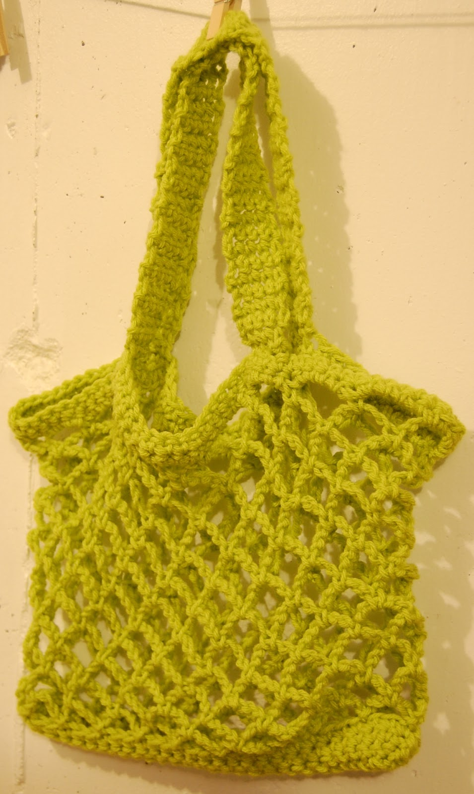 Crochet Market Bag Pattern Free : The Hippy Hooker: Market Bag - Free Crochet Pattern