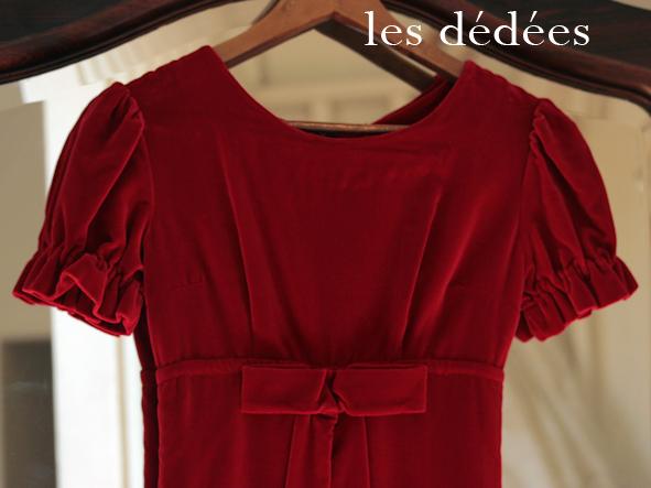 robe velours rouge fille robes de mode site photo blog. Black Bedroom Furniture Sets. Home Design Ideas