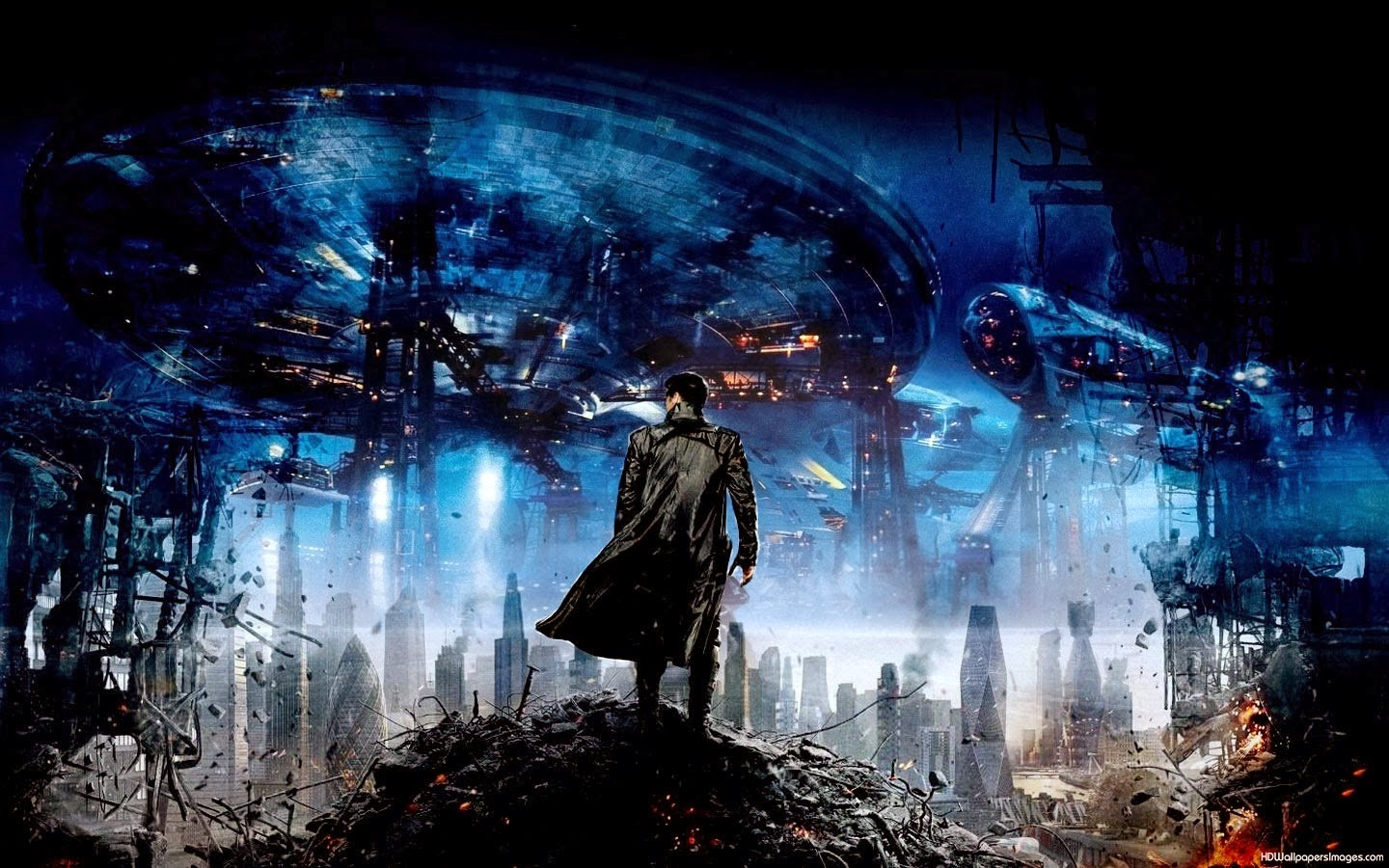 STAR TREK INTO DARKNESS WALLPAPERS