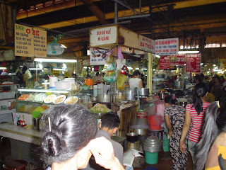Vietnamese Ben Thanh Market. Ho Chi Minh. Vietnam
