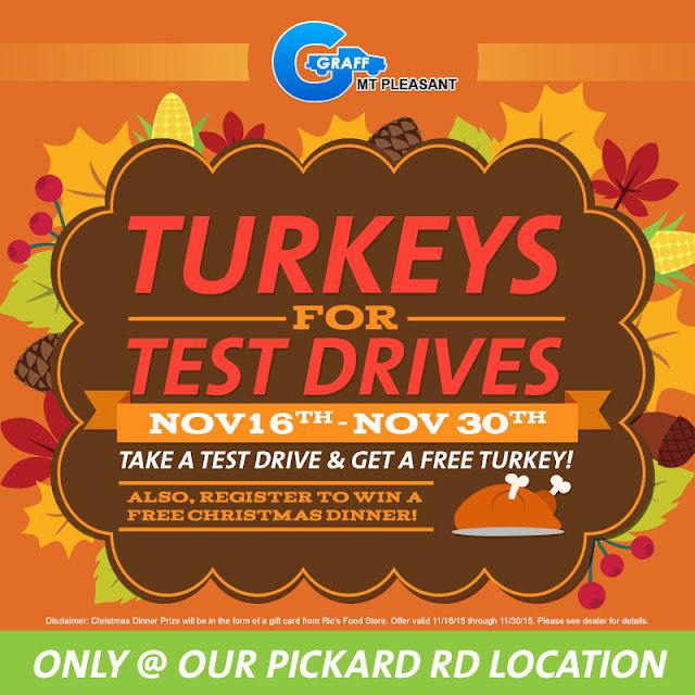 Turkeys for Test Drives at Graff Mt. Pleasant