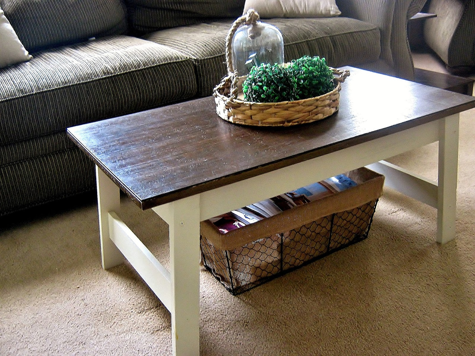 Alli Renee Blog Farmhouse Inspired Walmart Coffee Table Makeover