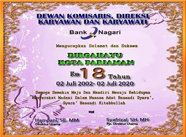 Iklan Bank Nagari