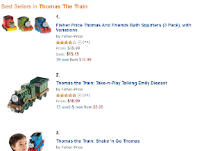 Thomas The Train Merchandise