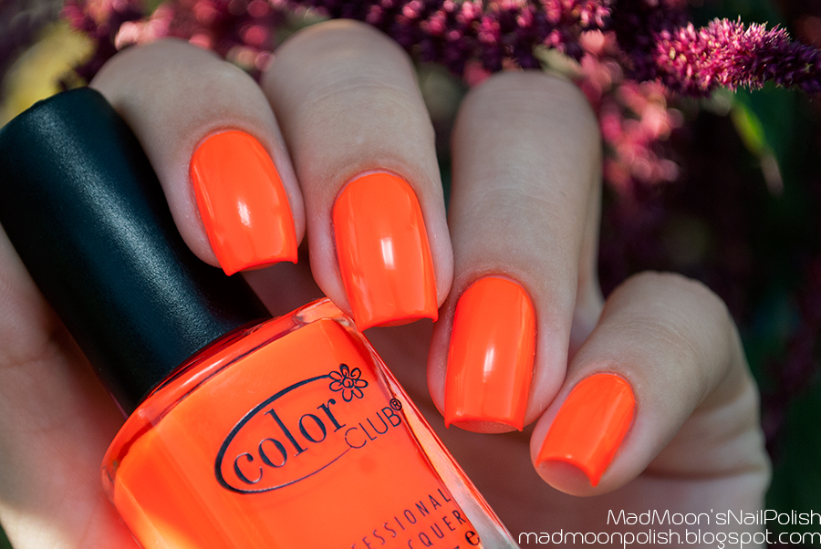 Супернеоновый пост: Color Club Koo Koo Ka Choo + стемпинг