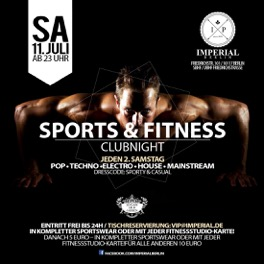 Sport und Fitness Clubnight Imperial Berlin