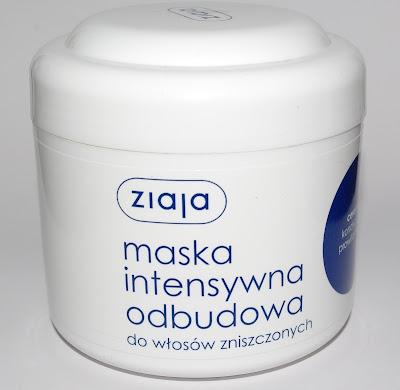Ziaja, maska do włosów Intensywna Odbudowa