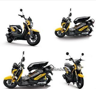 Foto+Honda+Zoomer+X Spesifikasi dan Harga Honda Zoomer X