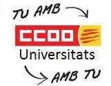 ccoo-universitats a Catalunya