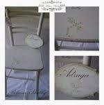 Oslikana romanticna stolica
