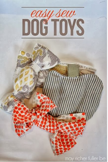 Easy Sew Dog Toys