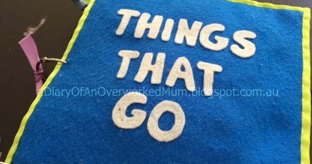 """The Quiet Book Blog: Sami's """"Things That Go"""" Quiet Book"""