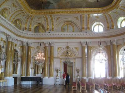 sala da ballo Castello Reale di Varsavia