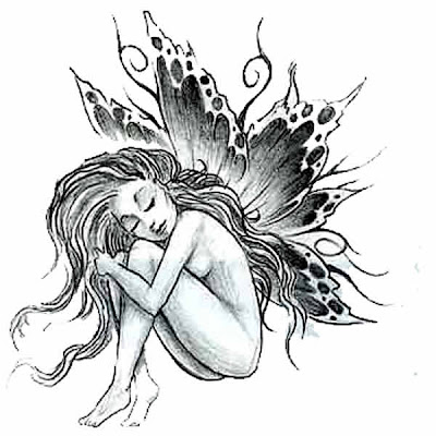 Tattoo Angel Designs on Cute Tattoo Designs  This Tattoo Design Depicts The Angel Who Was