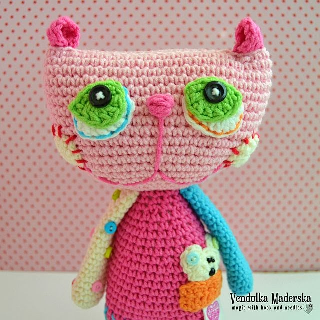 Crocheting Cats : Crochet cat - Magic with hook and needles