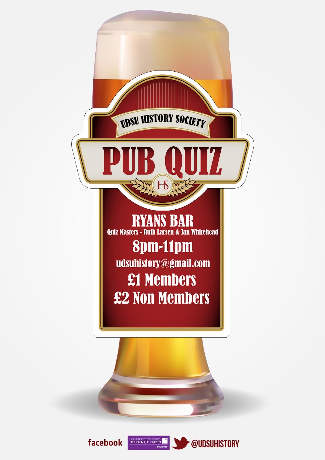 Bilderesultat for quiz poster pub | pub quiz | Pinterest