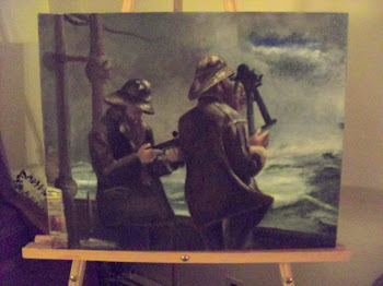 Study of Eight Bells by Winslow Homer