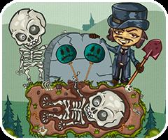 Game đào hố chôn xương, chơi game vui online