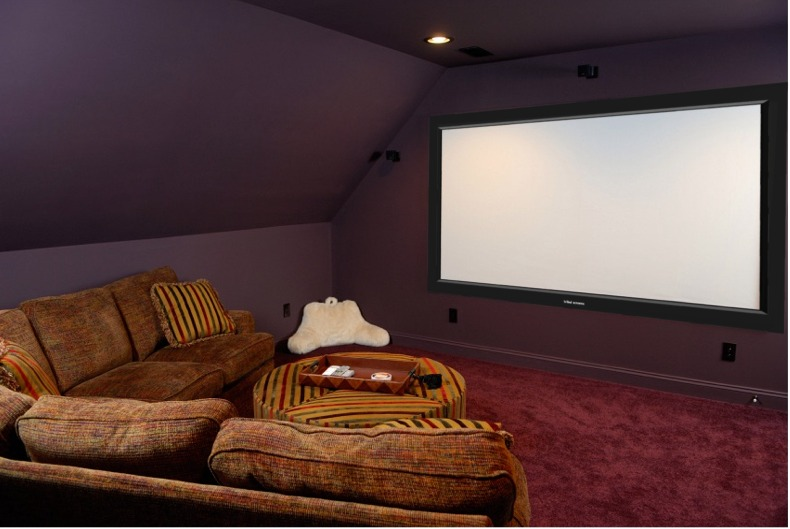 Movie Theater Room Small Space