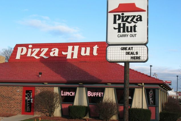 Pizza Hut Kitchen