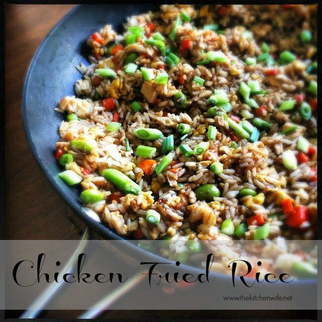 The Kitchen Wife~: Chicken Fried Rice