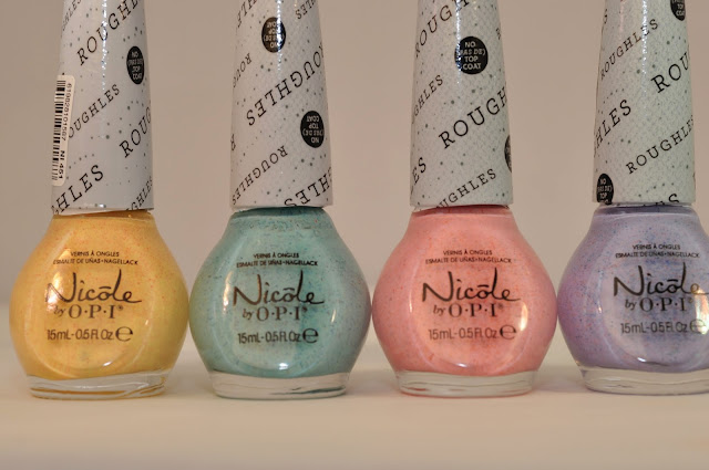Nicole by OPI Roughles Textured Polish Collection