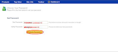 verifikasi password