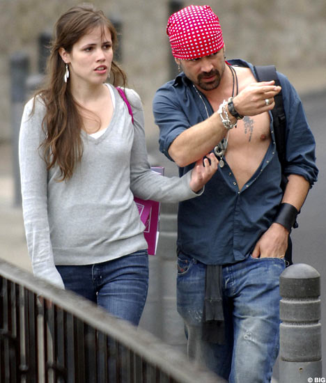 Colin farrell dating 2012