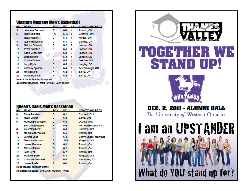 mustangs backcourt club blog together we stand up game With basketball tournament program template