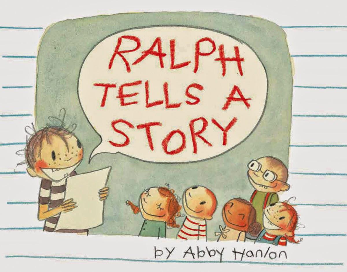 http://www.amazon.com/Ralph-Tells-Story-Abby-Hanlon/dp/0761461809/ref=sr_1_1?ie=UTF8&qid=1407378223&sr=8-1&keywords=ralph+tells+a+story